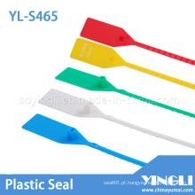 Selos de plástico descartáveis para caminhões com código de barras impresso (YL-S465)
