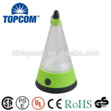 Potable PVC Plastic 12 LED Camping Lamp