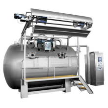 Máquina de tingimento de fluxo de ar