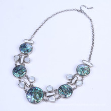 Abalone Shell Necklace with Freshwate Pearl