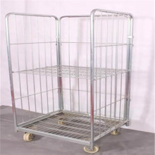 Heavy duty floding steel wire storage cage sale