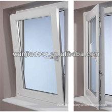side hinged window/swing and hinged windows/60 series pvc tilt window/guangzhou