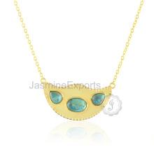 Bijouterie au diamant Arizona Turquoise 925 Sterling Silver