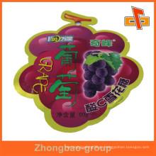 Hecho en China La fruta formó la bolsa formada especial para el caramelo