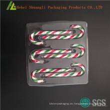 Caja de regalo de plástico de chocolate dulces al por mayor