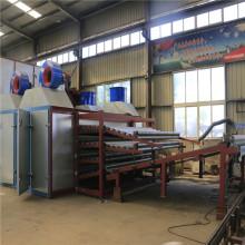 Secagem de folheado de madeira para linha de produção de madeira compensada