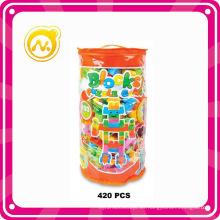 El juguete 420PCS juega el juego interesante de los bloques de DIY