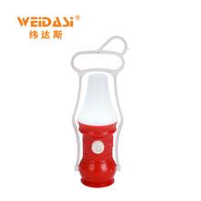 Lanterna recarregável portátil do furacão do castiçal do diodo emissor de luz recarregável