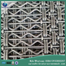 65Mn Anti-menyumbat Vibrating Screen Mesh