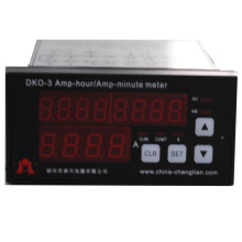 Medidor de horas de amperios con batería de 12 V DKO