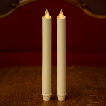 luminara taper window candle