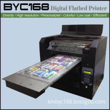 A3 Flatbed Cell Phone Case Printing Machine High Speed