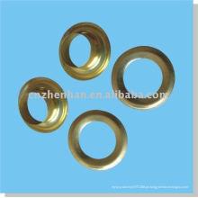 Zinco revestido de ferro cortina anel de ilhó, romano anel cego, anel de cobre