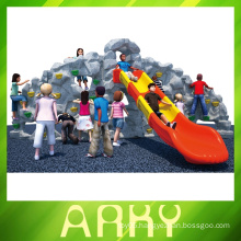 hot sale kids outdoor rock climbing wall