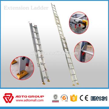escalera de extensión, escalera de extensión de aluminio, escaleras de extensión