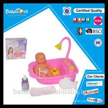 Ensemble de jouets de baignade drôle pour bébés avec bain de baignoire, jouet de canard