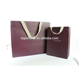 2016 new design recyclable luxury promotional Japanese folding paper bag