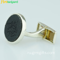 Customized Alloy Women's Cufflink With Logo