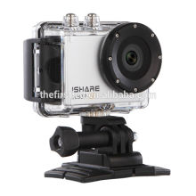 iShare S600W WiFi Action Sport Camera FHD 1080P 30M Waterproof Helmet Sport Video Camera Mini underwater camera