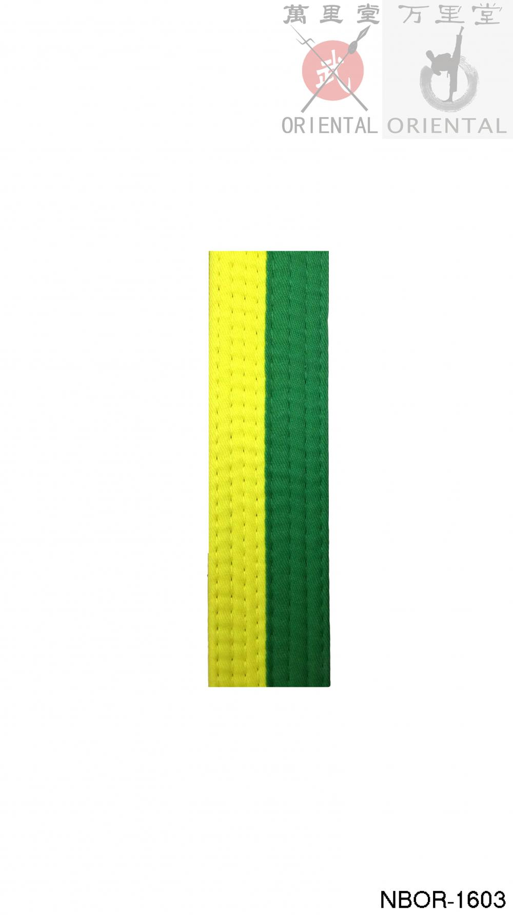 yellow color belts for taekwondo gear