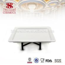 Chaozhou красоты буфет блюда простой белый оптовой посуды для шведского стола