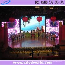Mur d'écran visuel polychrome d'intérieur de l'affichage LED de P6