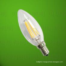 4W LED Filament Candle Bulb Light