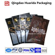 Matte fertige Plastiklebensmittelverpackungs-Tasche mit Reißverschluss / Botom Gusset