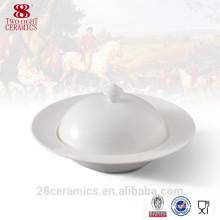 wholesale fine porcelain soup tureen, covered soup bowl