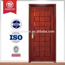 Puertas de madera a la medida del edificio, sola puerta interior a prueba de fuego del oscilación
