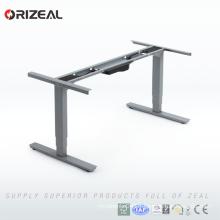 2018 best selling Ergonomic height adjustable computer stand modern office desk on sale
