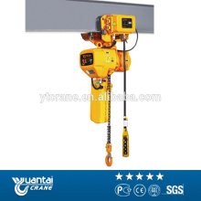 Easy to wrok CE certification 1 ton electric chain hoist
