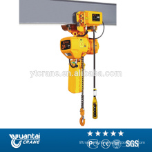 electric chain 7.5ton hoist price with high quality
