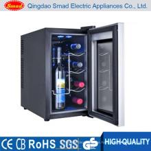 mini enfriador de vino, mini refrigerador, bodega 110v 60Hz