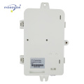 FTTH04C 1 inlet port 4 outlet ports engineer plastic 4 Plc Wall Mounted Fiber Optic Distribution Box
