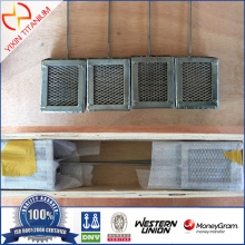 Gr2 9Titanium Anode Basket 90*75*36mm