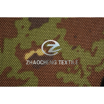 1050d Nylon Cordura with Italy Camouflage Printing and Coated (ZCBP273)