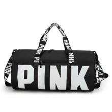 Custom Logo Outdoor Fashion Ladies Unisex Weekend Shoulder Tote Bag kitbag Women Gym Yoga Sport Fitness Bag