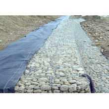 Bridge Gabion Retaining Wall With Low Carbon Steel Wire , Gabion Basket