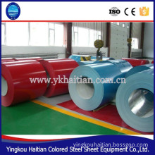 Prepainted GI steel coil, PPGI, Color Coated Galvanized Steel Sheet in Coil