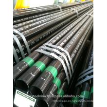 "Tubo de acero 1/2 ""- 8"" según ASTM, BS, API 5L-5CT ... o tubo de acero soldado, tubo de acero suave, tubo de acero galvanizado"