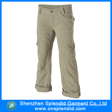 China Garment Manufacturer Men Serval Pockets 100%Cotton Work Trouser
