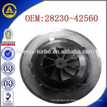 Cartucho GT1749 28230-42560 716938-5001 para el turbocompresor Hyundai