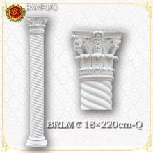 Piliers de mariage en colonne romaine blanche pour la décoration de mariage
