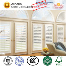 New Arrival with Superior Quality Best Price of Customised White Coated Plantation Shutters Organ County