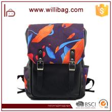Bolso de alta calidad del viaje de la mochila de la impresión de la moda del diseño