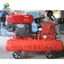 Mining Diesel Engine mini compresseur d'air mobile