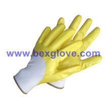 Water Proof Nitrile Coated Glove
