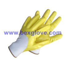 Wasserdichter Nitril beschichteter Handschuh