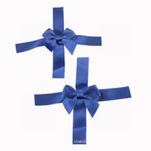 Blue Satin Ribbon Bow